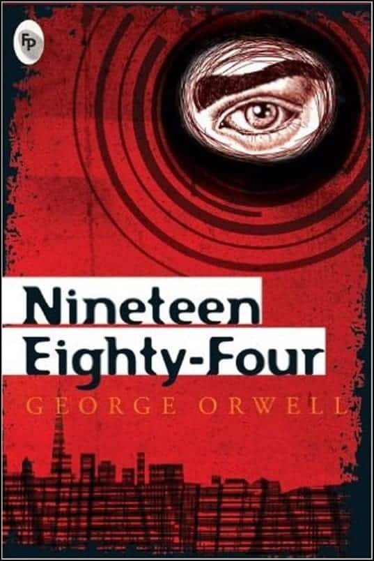 Orwell 1984 Book Cover 51